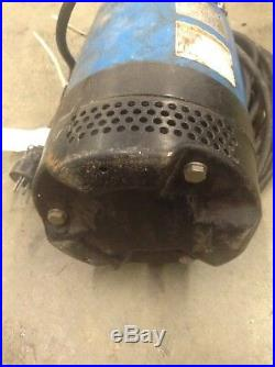 Tsunami Submersible Water Pump 2-inch Discharge 82 GPM Fits in an 8-inch Pipe