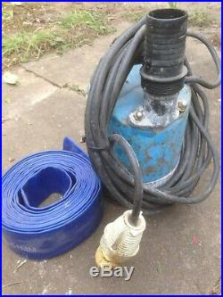 Tsurumi 2 Inch Sub Pump 110 V Model Discharge Water Pump Suction Submersable