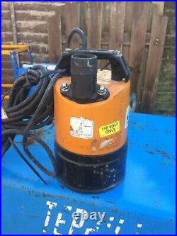 Tsurumi 2 Inch submersible Dirty Water Pump 110v