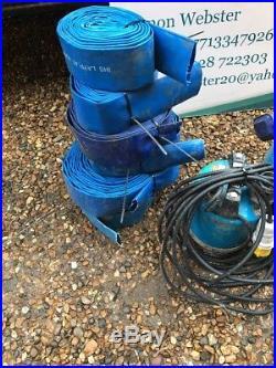 Tsurumi Electric LB-480 Submersible Water Pump (110 volts)