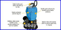 Tsurumi HS2-4S-62 Submersible Trash Water Pump 2-inch Discharge 52 GPM 23306
