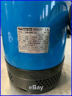 Tsurumi LB48210 230 Volt Submersible Water Pump