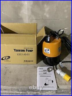 Tsurumi LSC1.4S Submersable Water Puddle Sub Pump 110v 480w