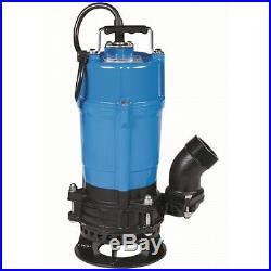 Tsurumi Submersible Trash Water Pump 2-inch Discharge withShaft Mounted Agitator