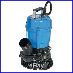 Tsurumi Submersible Trash Water Pump 3-inch Discharge 60 GPM 23305