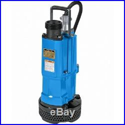 Tsurumi Submersible Water Pump 3-inch Discharge 110 GPM Runs