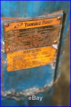 Tsurumi Submersible Water Pump NK2-22 130GPM 3HP
