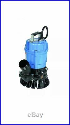 USED Tsurumi HS2-4S-62 Submersible Trash Water Pump 2-inch Discharge