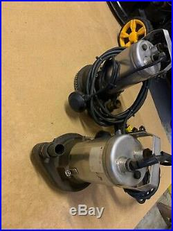 Used submersible dirty water pump