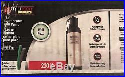 Utilitech 4-in Submersible 0.75-HP 230-Volts Stainless Steel Water Well Pump