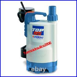 VORTEX Submersible Pump Dirty Water TOP3VORTEX GM 5M 0,75Hp 240V Pedrollo