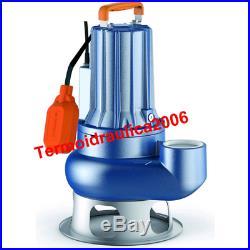 VORTEX Submersible Pump Sewage Water VXCm20/70 Cable10m 2Hp 230V VXC Pedrollo