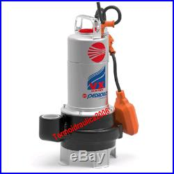 VORTEX Submersible Pump Sewage Water VXm10/50N 1Hp 230V vx Pedrollo Cable5m
