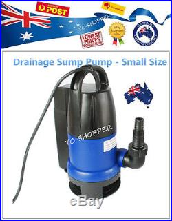 Vortex Sullage Submersible Drainage Water Pump Fit Small Sump Pit
