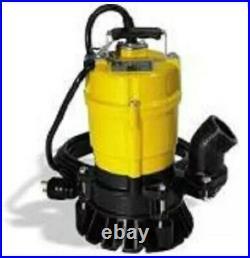 Wacker Neuson PST2 400 Submersible Pump, trash, 110V/60HZ, 1/2 HP, 20' cord