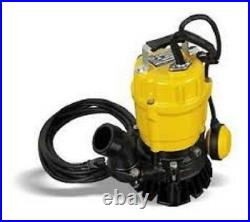 Wacker Neuson PSTF2 400 Submersible Pump withFloat 110V/60HZ, 1/2 HP, 20' cord