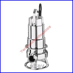 Waste Water Submersible Electric Pump DW100M EBARA0,75kW 230 50Hz Cable10 Steel