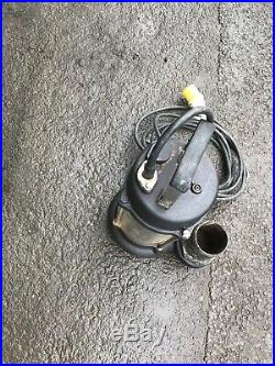 Water Pump 110v JS 750 3 Submersible Pond Flood Dirty Water Pump Gwo