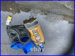 Water Pump 110v Ponstar Submersible Pond Flood Dirty Water Pump