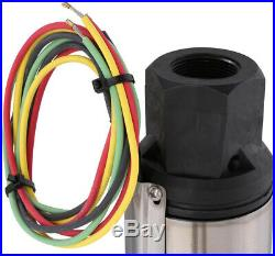Water Pump 1hp 40ft. Deep Well Potable Submersible 3Wire Motor 10gpm Residential