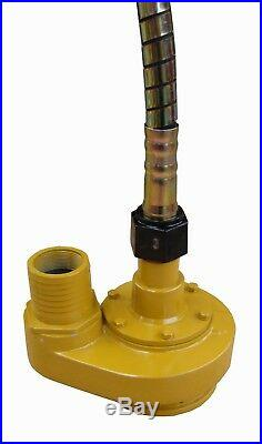 Water Pump 2 Submersible complete with 6 metre Flexible Shaft