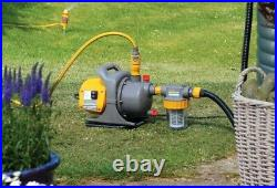 Water Pump Garden Outdoor Filter Electric Watering 3000 L Non Submersible Jet