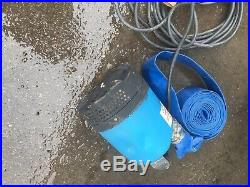 Water Pump With Hose 110v Flood Pond Submersible Pump 2 Tsurumi Gwo