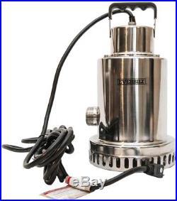 Waterfall Fountain Pump Garden Pond Submersible Water Quiet 1/2 HP Heavy Duty