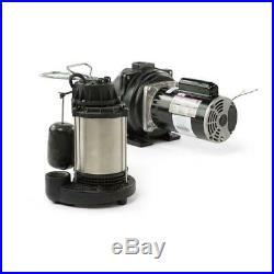 Wayne Submersible Sump Pump Water 3/4 HP Drainage Aquarium Basement Pumping Iron