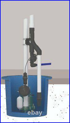 Zoeller 540 Flex Water-powered Backup Pump